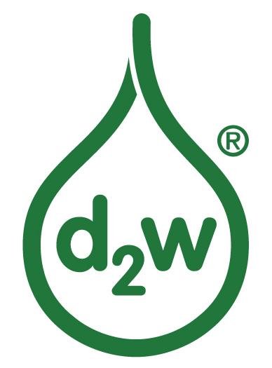 d2w, logo, łezka