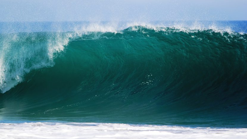 ocean, morze, woda, fala