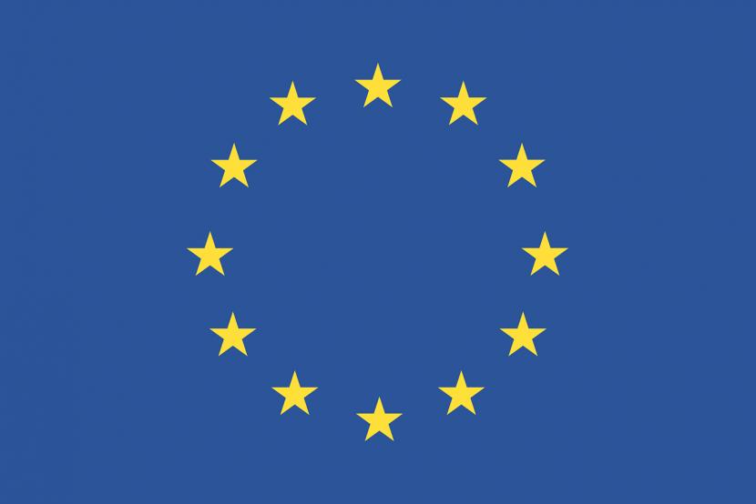 gwiazdy, niebieski kolor, żółty kolor, flaga